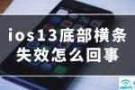 ios13底部横条失效怎么回事-互盾苹果恢复精灵【图解】