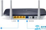 水星路由器连接网线后,对应端口指示灯不亮怎么办?【图解】