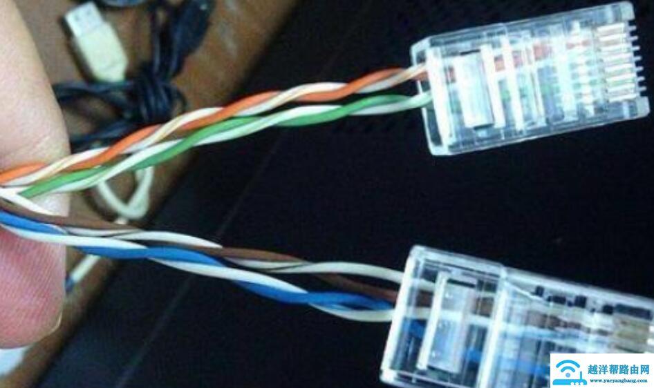网线怎么接,怎样接四线的网线水晶头?