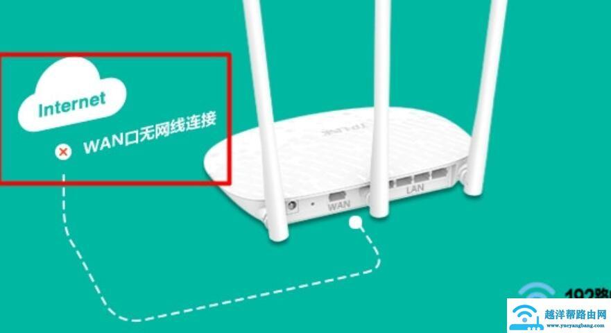 网线插着但wan口灯不亮怎么回事?