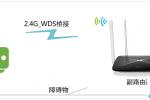 水星MW325R路由器无线桥接设置方法